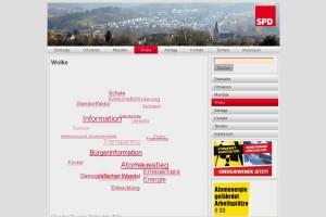 Relaunch der SPD-Allendorf-Web-Seite